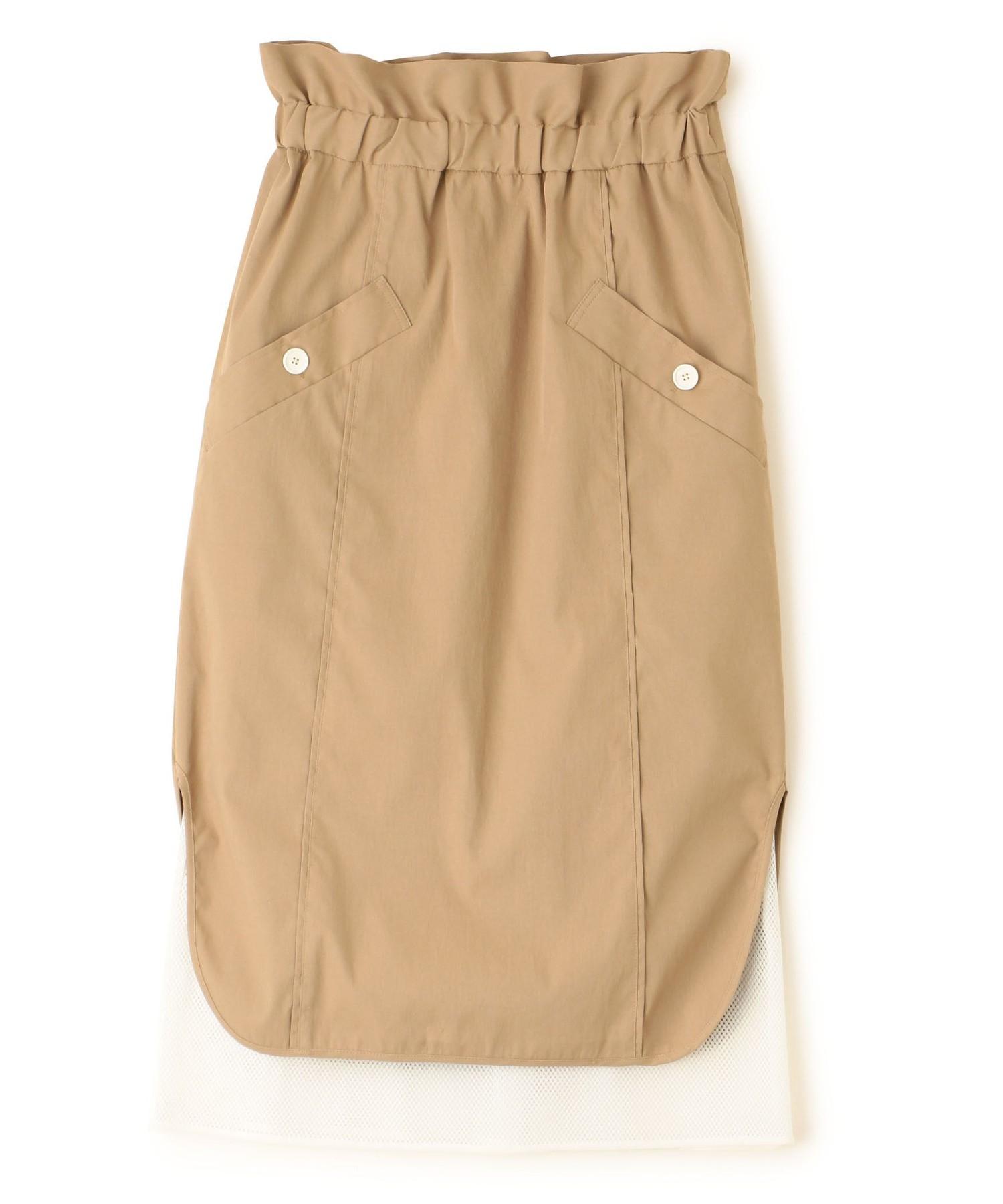 ツイルメッシュスカート
