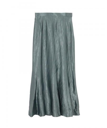 アセテートサテンスカート