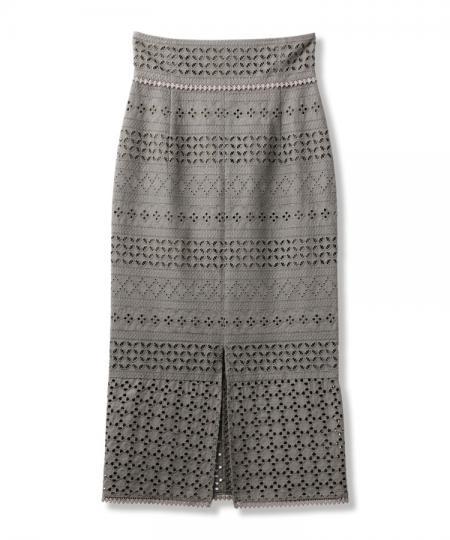 アイレットレーススカート
