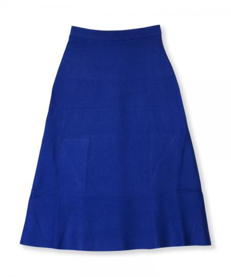 Milano Rib Semi Flared Skirt