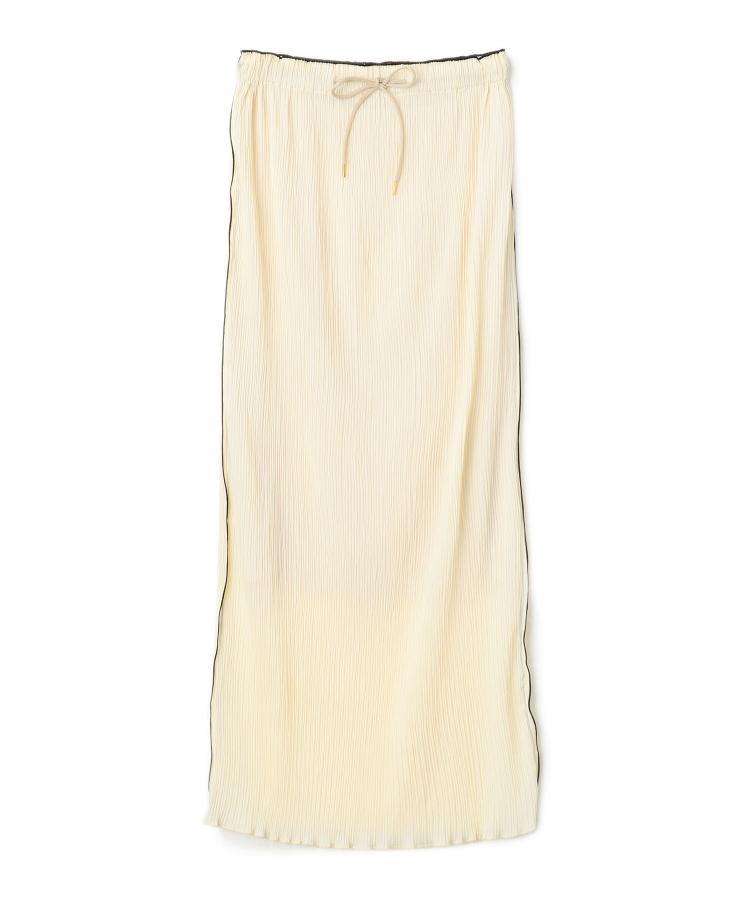 Pleats Tight Skirt