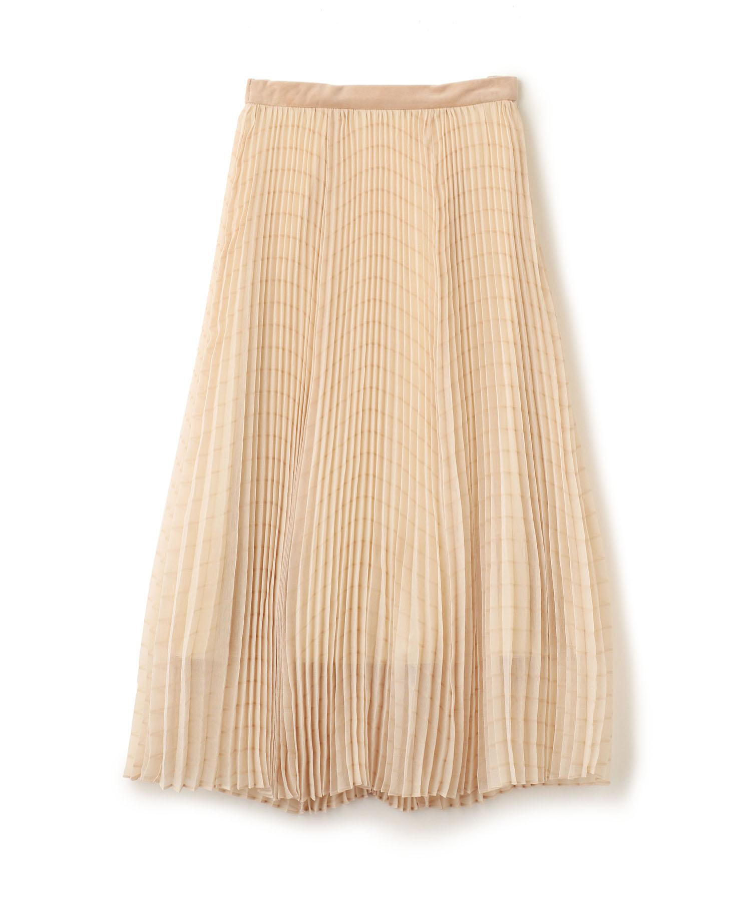 プリーツボリュームスカート