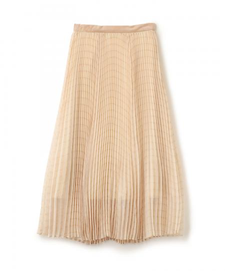 Pleats Volume Skirt