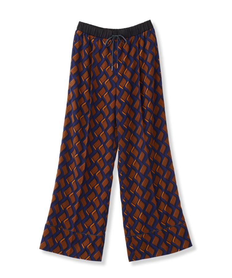Wave Stripe Pants