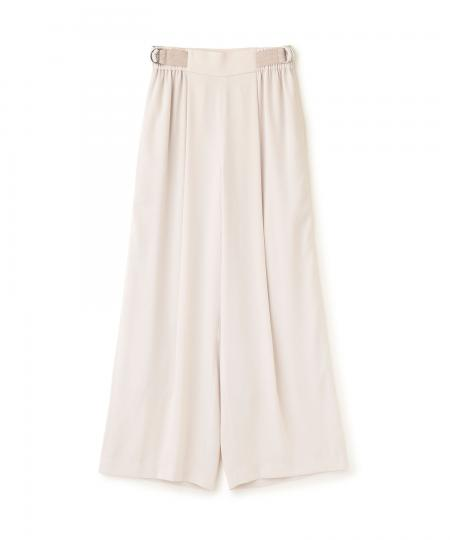 Twill Straight Wide Pants