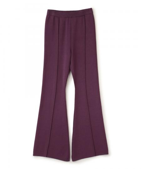 Bell Bottom Knit Pants