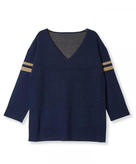 Double Jacquard Knit Pullover