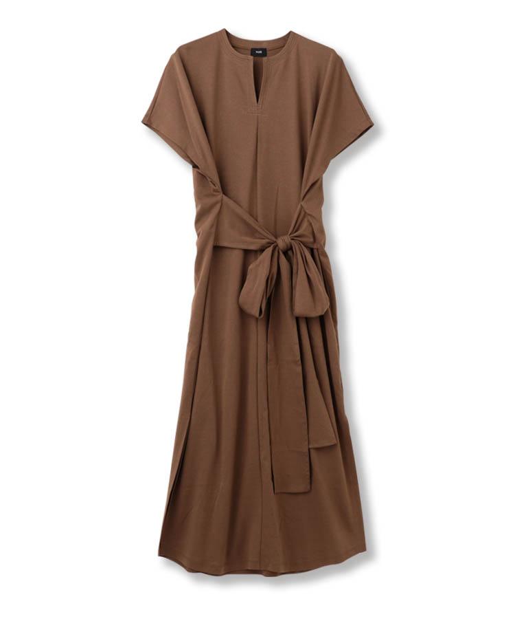 カフタンカットドレス