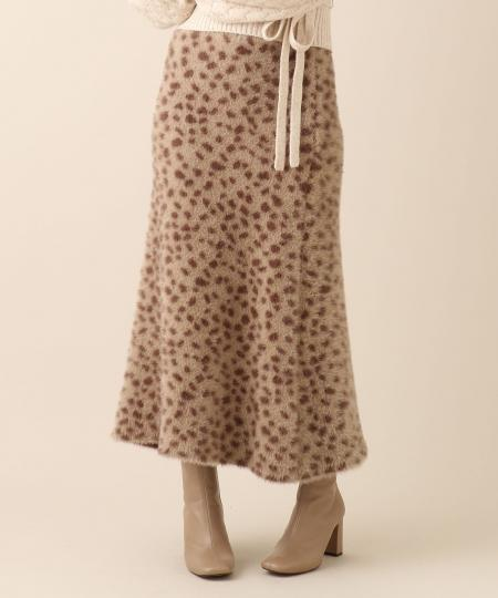 【予約】ダルメシアンシャギースカート