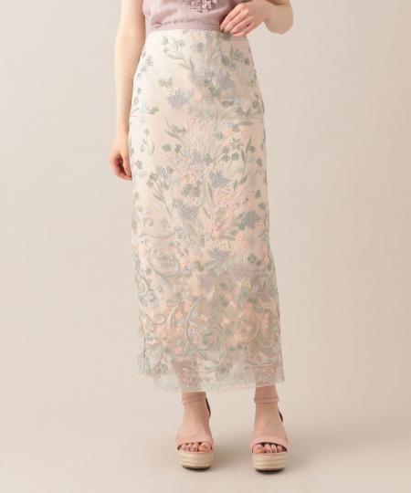 【予約】チュールレースタイトスカート