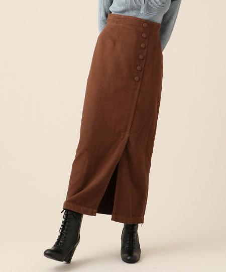 【予約】ガーメントダイミディタイトスカート