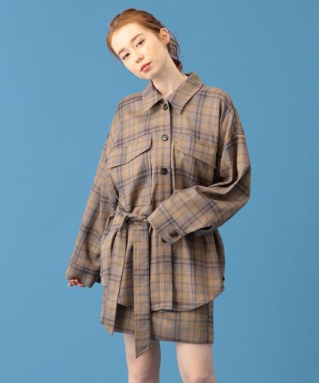【予約】クラシカルチェックシャツジャケット